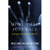 More than Just Race: Being Black and Poor in the Inner City by William Julius Wilson, 9780393337631