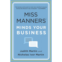 Miss Manners Minds Your Business by Nicholas Ivor Martin, 9780393349856