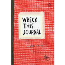 Wreck This Journal (Red) by Keri Smith, 9780399162725