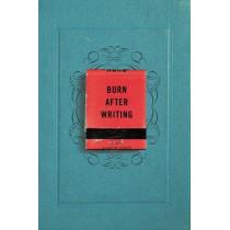 Burn After Writing by Sharon Jones, 9780399175213