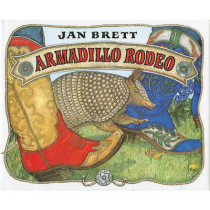 Armadillo Rodeo by Jan Brett, 9780399228032