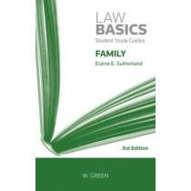 Family LawBasics by Elaine E. Sutherland, 9780414018808