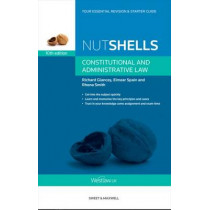 Nutshells Constitutional and Administrative Law by Rhona Smith, 9780414031876