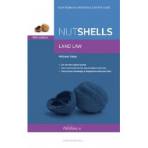 Nutshells Land Law by Michael Haley, 9780414052451