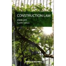 Construction Law by Professor John Uff, 9780414055339