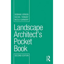 Landscape Architect's Pocket Book by Siobhan Vernon, 9780415630849