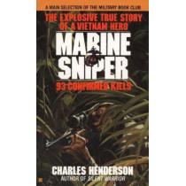 Marine Sniper: 93 Confirmed Kills by Charles Henderson, 9780425103555