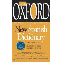 Oxford New Spanish Dictionary by Penguin, 9780425228609