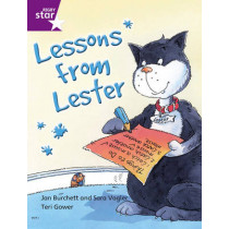 Rigby Star Independent Year 2 Purple Fiction Lessons From Lester Single, 9780433034599
