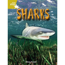 Rigby Star Independent Year 2 Gold Non Fiction Sharks Single by Jillian Powell, 9780433034612