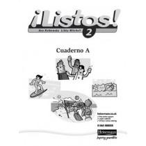 Listos! 2 Verde Workbook (Pack of 8), 9780435429669