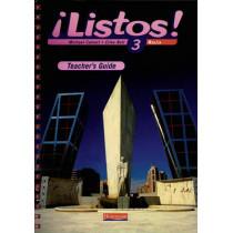 Listos! 3 Rojo Teacher's Guide by Mike Calvert, 9780435430320