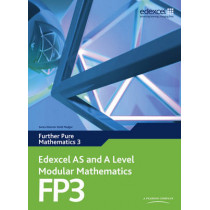 Edexcel AS and A Level Modular Mathematics Further Pure Mathematics 3 FP3 by Keith Pledger, 9780435519223