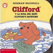 Clifford y la Hora del Bano/Clifford's Bathtime by Norman Bridwell, 9780439545679