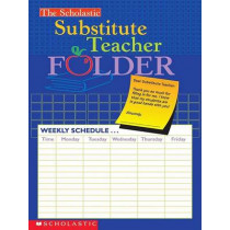 The Scholastic Substitute Teacher Folder by Scholastic, 9780439546447