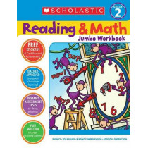 Reading & Math Jumbo Workbook: Grade 2 by Terry Cooper, 9780439786010