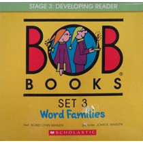 Bob Books Set 3: Word Families by John Maslen, 9780439845090