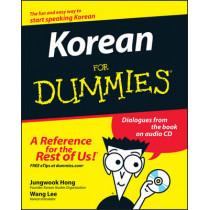 Korean For Dummies by Jungwook Hong, 9780470037188