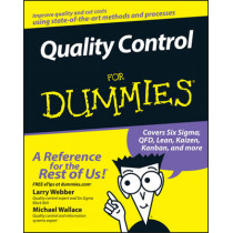 Quality Control for Dummies by Larry Webber, 9780470069097