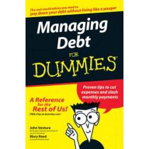 Managing Debt For Dummies by John Ventura, 9780470084861