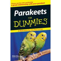 Parakeets For Dummies by Nikki Moustaki, 9780470121627