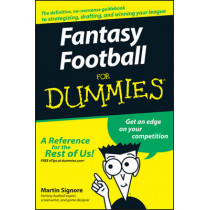 Fantasy Football For Dummies by Martin Signore, 9780470125076