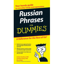 Russian Phrases For Dummies by Andrew Kaufman, 9780470149744