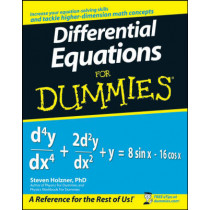 Differential Equations For Dummies by Steven Holzner, 9780470178140