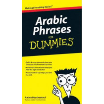Arabic Phrases For Dummies by Amine Bouchentouf, 9780470225233