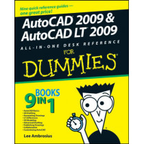 AutoCAD 2009 and AutoCAD LT 2009 All-in-One Desk Reference For Dummies by Lee Ambrosius, 9780470243787