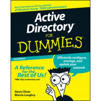Active Directory For Dummies by Steve Clines, 9780470287200