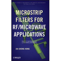Microstrip Filters for RF / Microwave Applications by Jia-Sheng Hong, 9780470408773