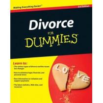 Divorce For Dummies by John Ventura, 9780470411513