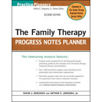 The Family Therapy Progress Notes Planner by David J. Berghuis, 9780470448847