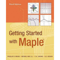 Getting Started with Maple by Douglas B. Meade, 9780470455548