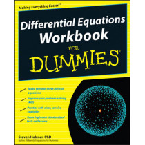 Differential Equations Workbook For Dummies by Steven Holzner, 9780470472019