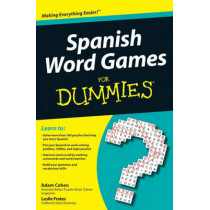 Spanish Word Games For Dummies by Adam Cohen, 9780470502006