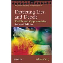 Detecting Lies and Deceit: Pitfalls and Opportunities by Aldert Vrij, 9780470516256