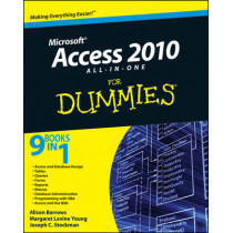 Access 2010 All-in-One For Dummies by Alison Barrows, 9780470532188