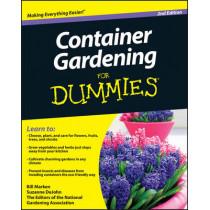 Container Gardening For Dummies by Bill Marken, 9780470577059