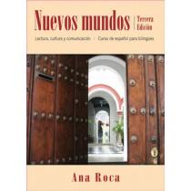 Nuevos mundos: Curso de espanol para bilingues by Ana Roca, 9780470588987
