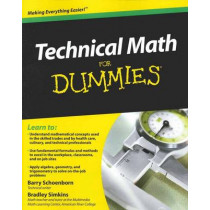 Technical Math For Dummies by Barry Schoenborn, 9780470598740