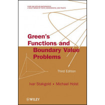 Green's Functions and Boundary Value Problems by Ivar Stakgold, 9780470609705