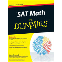 SAT Math For Dummies by Mark Zegarelli, 9780470620854