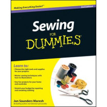 Sewing For Dummies by Jan Saunders Maresh, 9780470623206