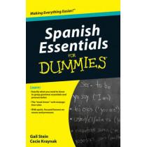 Spanish Essentials For Dummies by Gail Stein, 9780470637517