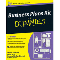 Business Plans Kit For Dummies by Steven D. Peterson, 9780470743812