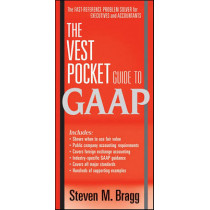The Vest Pocket Guide to GAAP by Steven M. Bragg, 9780470767825