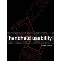 Handheld Usability by Scott Weiss, 9780470844465
