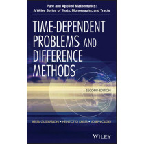 Time-Dependent Problems and Difference Methods by Bertil Gustafsson, 9780470900567